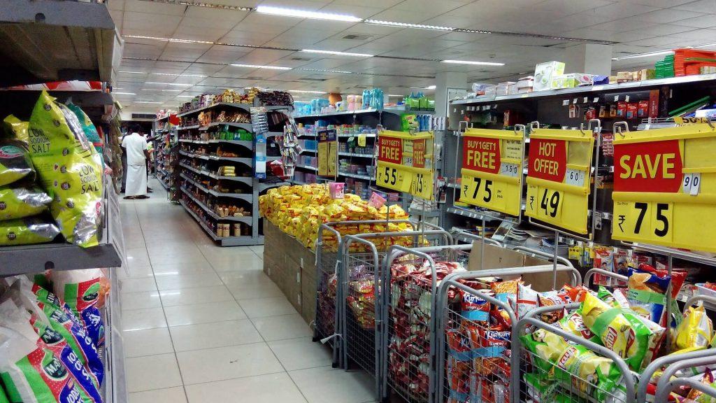 An everyday supermarket
