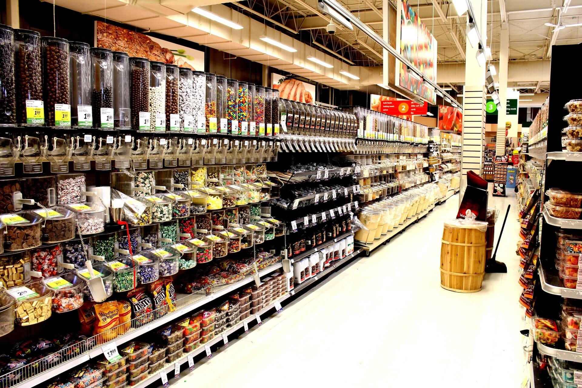 High end premium supermarket